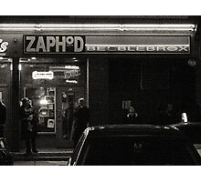 Night Shots:  At  Zaphod Beeblebrox's Joint Photographic Print