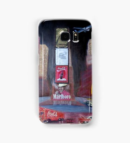 ELVIS in Times Square Samsung Galaxy Case/Skin