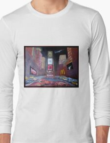 ELVIS in Times Square Long Sleeve T-Shirt