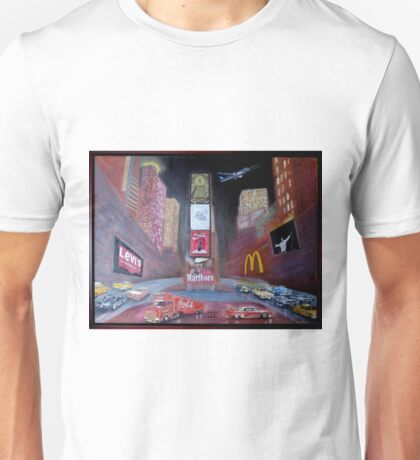 ELVIS in Times Square Unisex T-Shirt