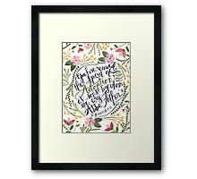 The Spirit of Adoption - Romans 8:15 Framed Print