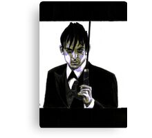Gotham Oswald Cobblepot Robin Lord Taylor Canvas Print
