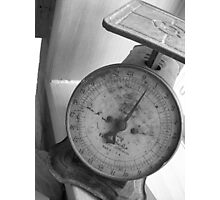 Weight of Nothing Photographic Print