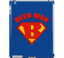 Beer Man iPad Case/Skin