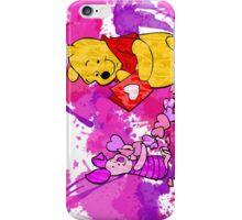Pooh & Piglet Valentine iPhone Case/Skin