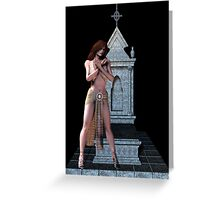 Faith .. a maidens prayer Greeting Card