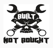 Built Not Bought Skull & Crossbones Kids Clothes