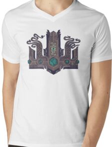 The Crown of Cthulhu Mens V-Neck T-Shirt