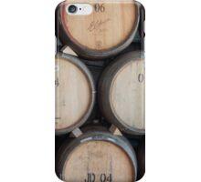 wine barrels iPhone Case/Skin