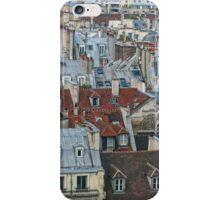 Rooftops of Paris #2 iPhone Case/Skin
