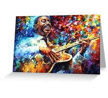 George Benson — Buy Now Link - www.etsy.com/listing/190798038 Greeting Card