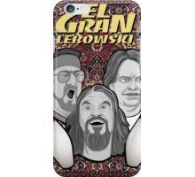 the big lebowski spanish collage iPhone Case/Skin