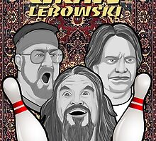 the big lebowski spanish collage by gjnilespop