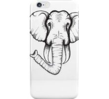 Elephant Head iPhone Case/Skin