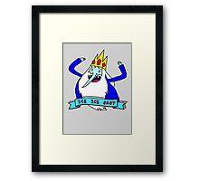 vanilla ice king Framed Print