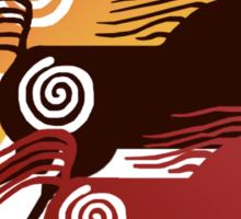 Three Ancient Horses Sticker