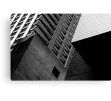 Concrete Cubism - Barbican Canvas Print