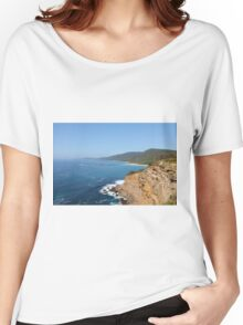Pretty Beach and Beyond Women's Relaxed Fit T-Shirt