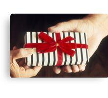 Gift Exchange Canvas Print
