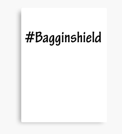#Bagginshield Canvas Print