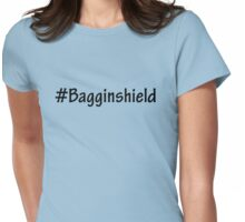 #Bagginshield Womens Fitted T-Shirt