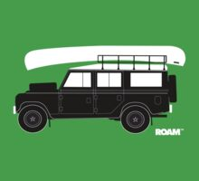 ROAM Overlander with Canoe by ROAM  Apparel