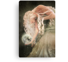 Sister Moon Canvas Print