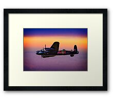 Lancaster At Dawn Framed Print