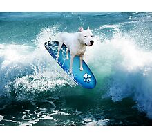 YOU SURFERS HAVE NOTING ON ME...PIT BULL SURFS. PILLOW OR TOTE BAG OR.PICTURE AND OR CARD Photographic Print