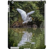Egret Hunting for Lunch iPad Case/Skin