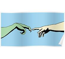 The Creation of T-Rex Poster