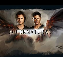 supernatural by paoloballe