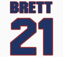 National Hockey player Brett Sterling jersey 21 by imsport