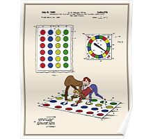 Twister Patent - Color  Poster