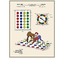 Twister Patent - Color  Photographic Print