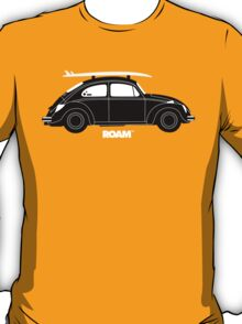 ROAM VW Bug with Surf Board T-Shirt