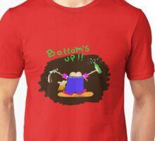 bottoms up !! Unisex T-Shirt