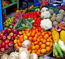 Old Mazatlan Market by tobie