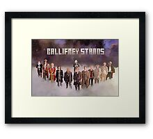 Gallifrey Gang Framed Print
