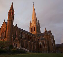 Bendigo Sacred Heart Cathedral by Rikki  Pool