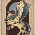 Hippogryph Card by Lauren Reeser