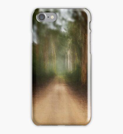 Track Blur iPhone Case/Skin