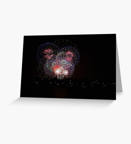 New Years Eve Fireworks 2014  Greeting Card