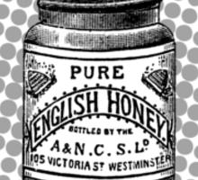 English Honey Sticker