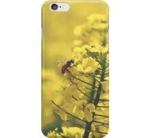 Canola Bee iPhone Case/Skin