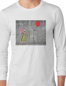 Banksy's Burgers Long Sleeve T-Shirt