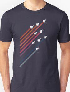 Rainbow Jets Unisex T-Shirt