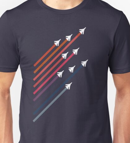Rainbow Jets Unisex T-Shirt