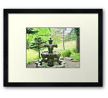 Japanese Foundation Framed Print