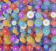 pop flowers by Jicha